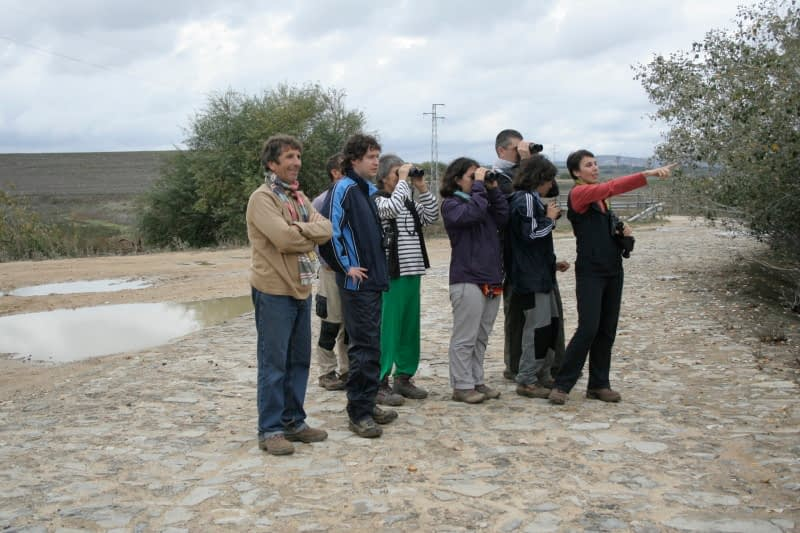 Wildlife watching in Andalusia with G3-guides
